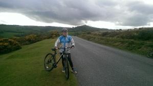Spinning across Dartmoor