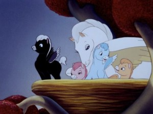 Baby Pegasus from Disney's Fantasia