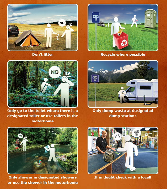 Freedom Camping Guidelines by Hippie Camper New Zealand