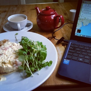 Breakfast and planning