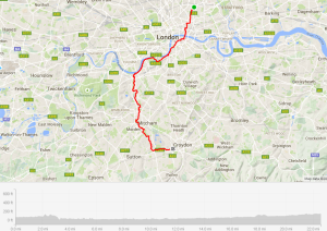 Wandle Trail Route